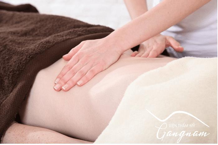 Cách làm căng da bụng bị chùng sau sinh bằng dầu dừa