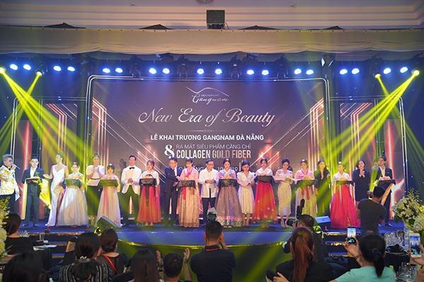 Lễ khai trương viện thẩm mỹ Mega Gangnam tại Đà Nẵng và ra mắt siêu phẩm căng da bằng chỉ Collagen Gold Fiber