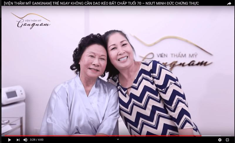 NSƯT Minh Đức trẻ đẹp bất ngờ sau khi căng da mặt bằng chỉ Collagen Smart Fiber-4