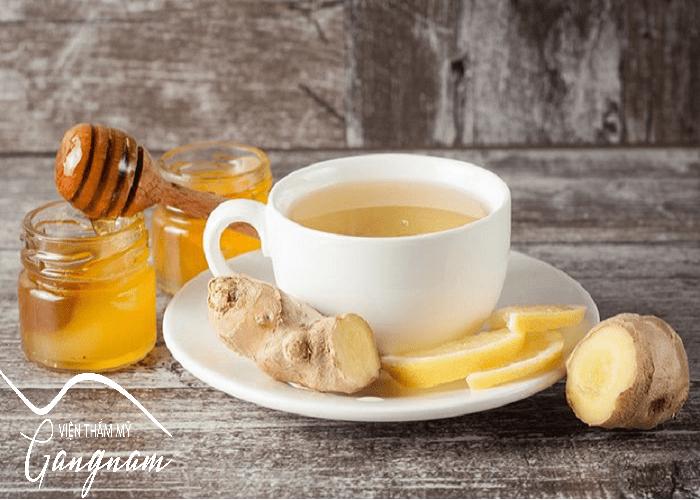 Giảm béo sau Tết hiệu quả bằng trà gừng