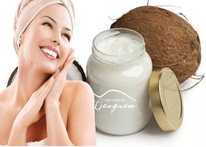 Phương pháp trẻ hóa da mặt bằng dầu dừa
