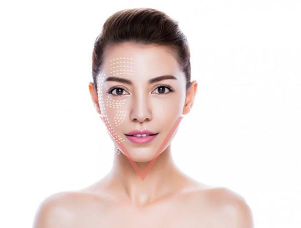 Máy nâng cơ mặt với nguyên lý tác động đến tổ chức collagen giúp gương mặt thon gọn, săn chắc