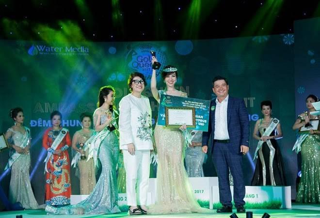 Nguyễn Hải Anh trong thời khắc lên ngôi Á hoàng Golf 2017