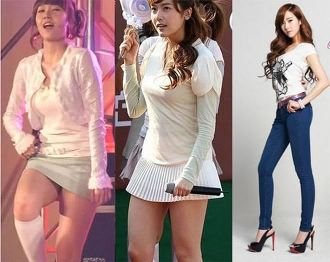 Siêu sao Hàn Quốc Jessican giảm béo bằng tập luyện và ăn kiêng