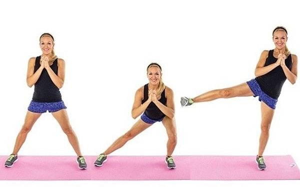 Bài tập đá chân giúp giảm mỡ phần bụng dưới hiệu quả