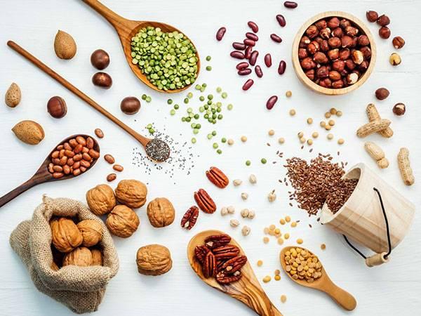 Đừng bỏ qua những loại hạt ngũ cốc trong thức ăn giảm béo bụng mỗi ngày của bạn