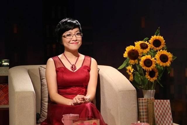 MC Thảo Vân trong vai trò là một người dẫn chương trình truyền hình