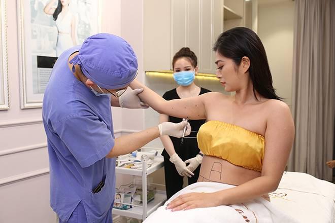 Công nghệ này có thể áp dụng cho nhiều vùng cơ thể, như bắp tay, lưng, đùi...