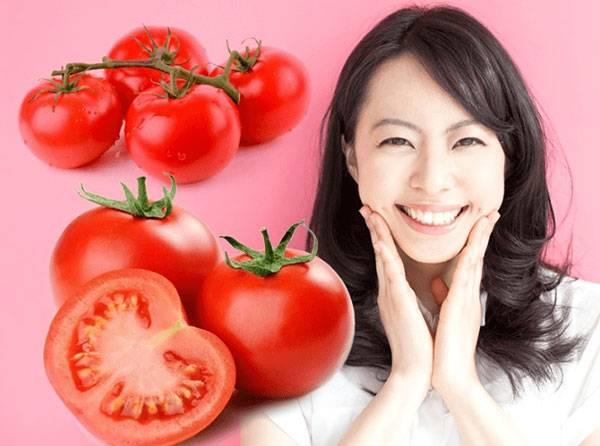 Cà chua có tác dụng cấp ẩm, giúp da căng mịn hơn