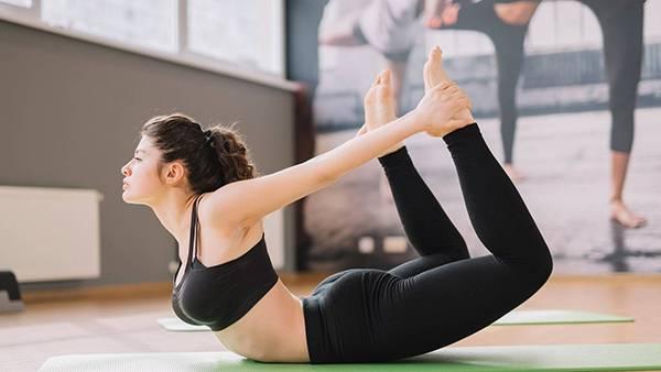Bài tập yoga tư thế cánh cung
