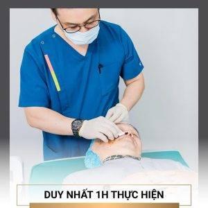 Cách làm giảm nếp nhăn vùng mắt bằng căng chỉ có khả năng cải thiện tới 95% nếp nhăn ở khu vực nhạy cảm này