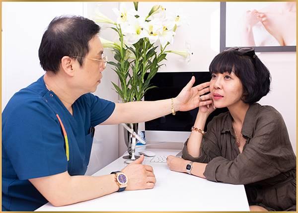 Quy trình căng chỉ Collagen Smart Fiber - Bước 1