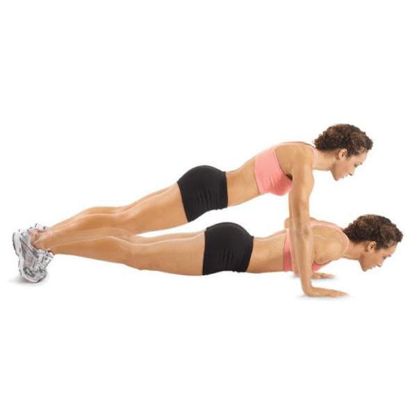 Bài tập chống đẩy giảm mỡ toàn thân hiệu quả