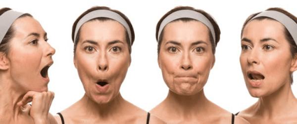 Làm sao giảm béo mặt? Hãy thử áp dụng tập cơ mặt