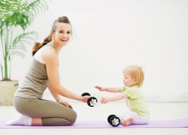 Tập luyện nhẹ nhàng & tăng dần cường độ là phương pháp giảm béo sau sinh mổ hiệu quả & an toàn