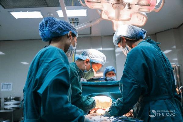 Liệu trình hút mỡ Vaser lipo tại Bệnh viện thẩm mỹ Thu Cúc được đảm bảo quy trình chuẩn từ khâu vô trùng, gây mê