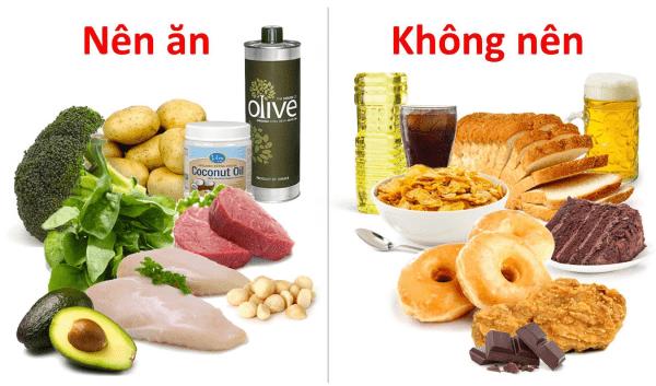 Các thực phẩm nên ăn và không nên ăn để giảm mỡ và khoẻ mạnh hơn