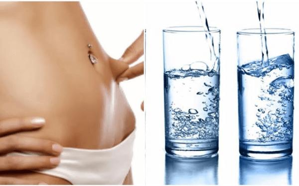 Giảm béo tại nhà với nước lọc