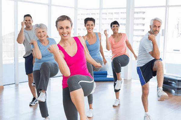 Phương pháp giảm mỡ hiệu quả gấp 30 lần tập aerobic giảm béo eo thon