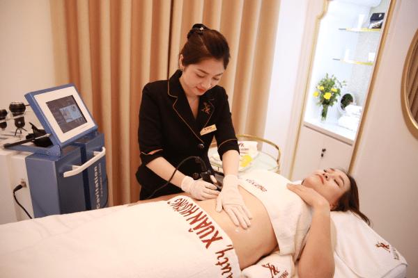 Giảm mỡ tại Thẩm mỹ viện Xuân Hương với công nghệ Laser Rf Lipo Plus an toàn và không đau đớn