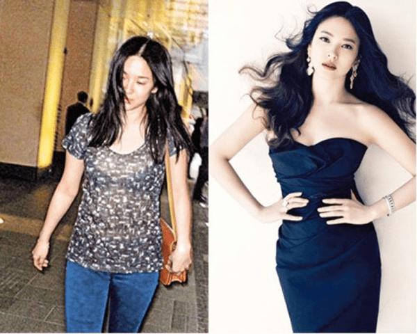 """Nói đến cách giảm béo mặt của sao Hàn không thể không nhắc đến những """"cú lột xác"""" của Song Hye Kyo"""