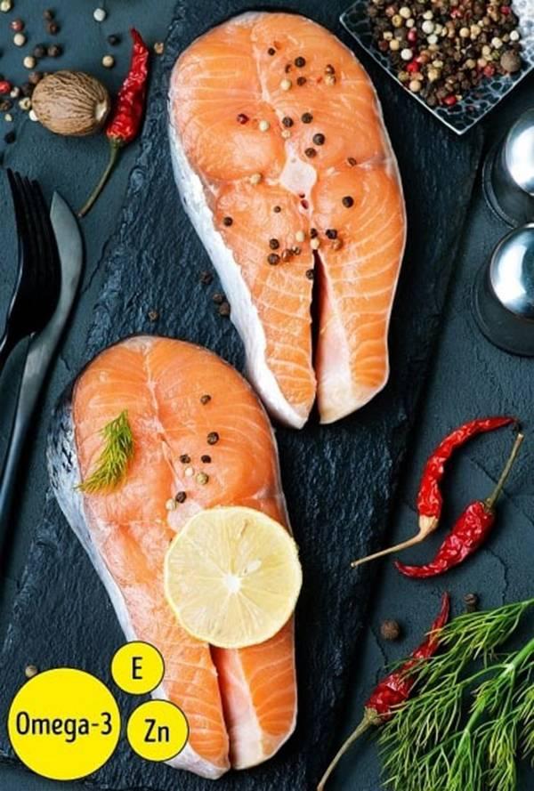 Tăng cường ăn thực phẩm giàu axit béo omega 3