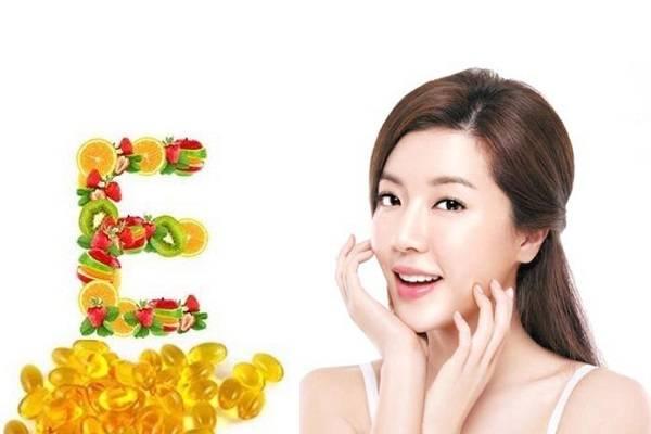 Tác dụng của vitamin đối với da của chị em phụ nữ