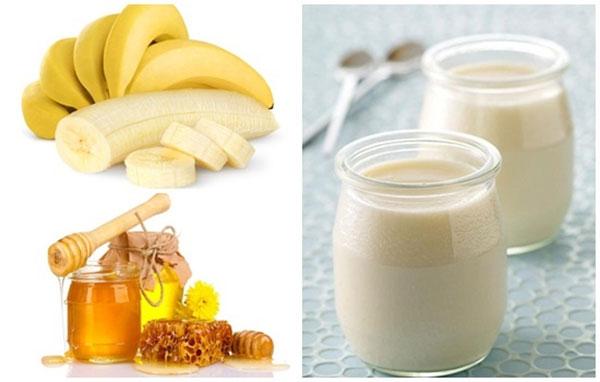 Mặt nạ chống nhăn hiệu quả từ chuối, sữa chua và mật ong