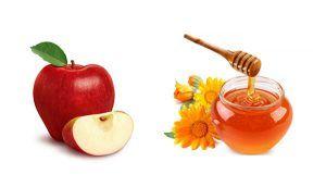 Mặt nạ chống nhăn da táo + mật ong+ sữa bột