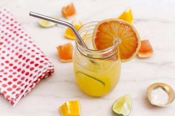 Nước uống 4 chanh 1 cam để giảm mỡ bụng nhanh tại nhà