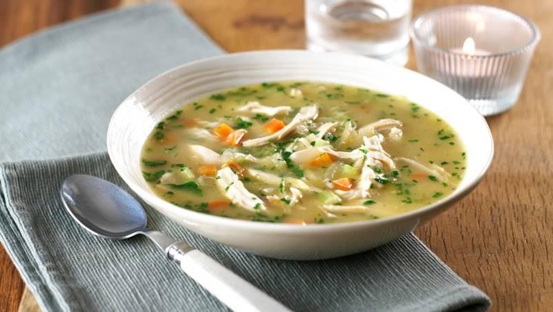 Món soup gà thơm ngon, bổ dưỡng mà vẫn có tác dụng giảm cân