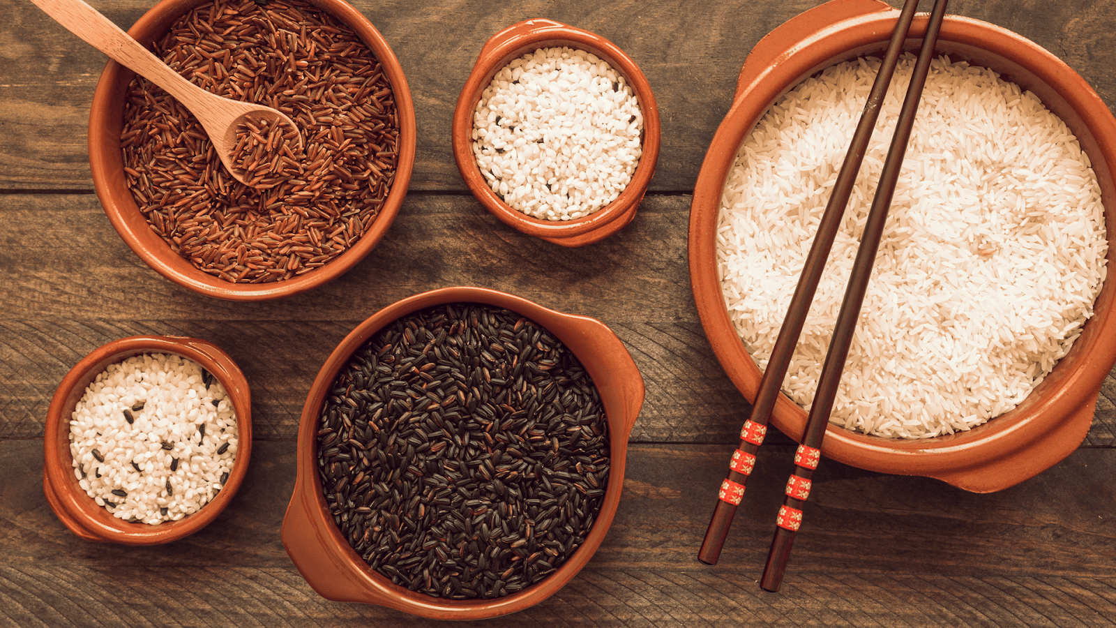 Gạo lứt giảm béo hiệu quả vì chứa rất nhiều chất xơ