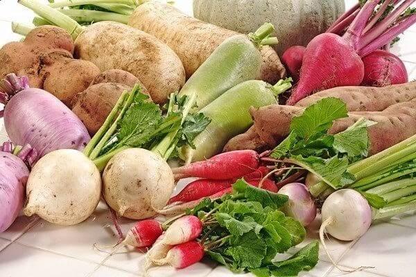 Các loại củ quả thích hợp với thực đơn giảm cân bằng rau củ quả