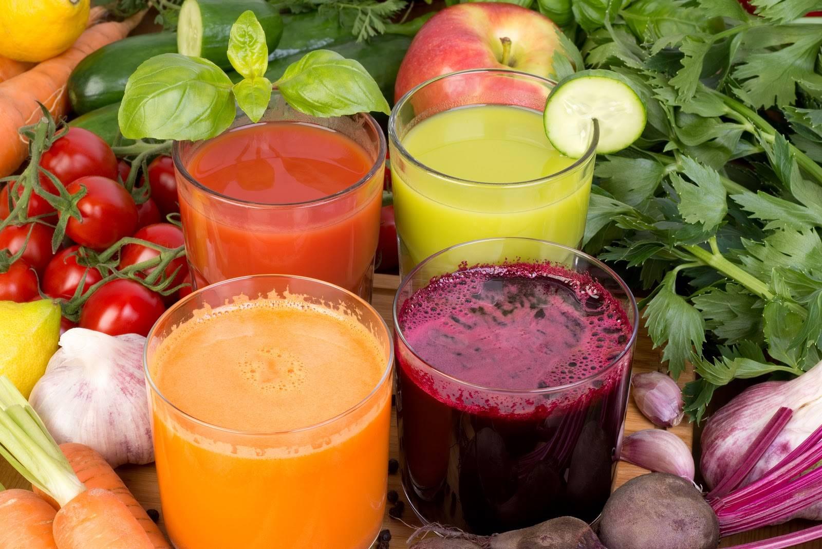 Nước ép rau củ quả - thực đơn giảm cân cấp tốc