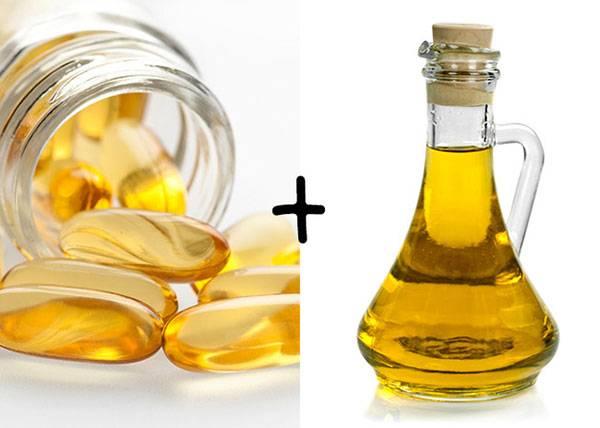 Xóa nếp nhăn bằng dầu dừa và vitamin E