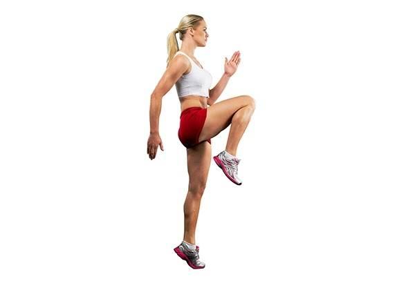 Bài tập Hiit - chạy nâng cao đùi giảm mỡ toàn thân cho nữ hiệu quả