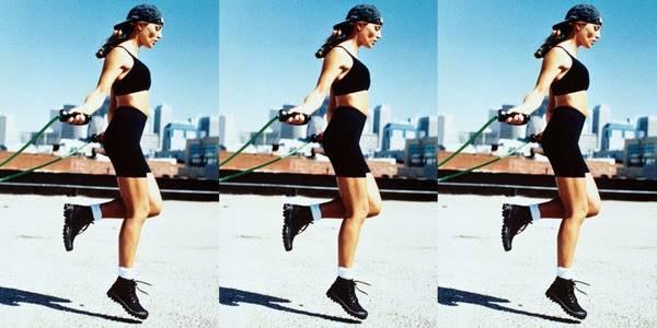 Giảm mỡ toàn thân bằng bài tập nhảy dây chạy bộ