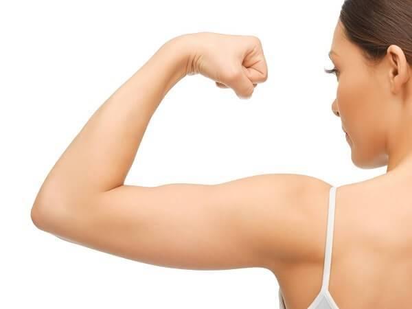 Xác định rõ vị trí cần giảm mỡ vai và bắp tay