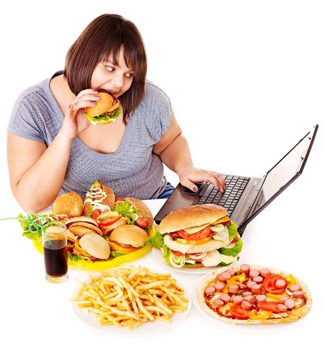 Chế độ ăn uống không hợp lý dẫn đến việc béo bắp tay và vai