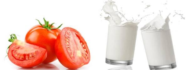 Mặt nạ cà chưa & sữa tươi cũng giúp dưỡng trắng da hiệu quả