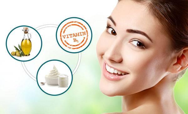 Tác dụng của Vitamin B1 với da khá rõ rệt & được nhiều chị em tin dùng