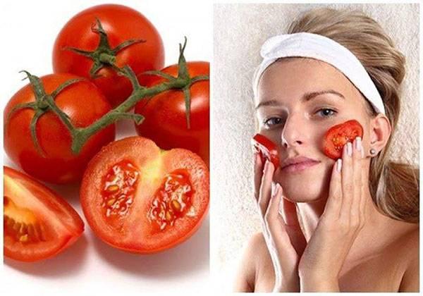 Cà chua là nguyên liệu trị thâm quầng mắt hiệu quả