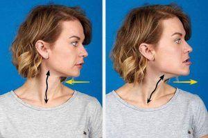 Bài tập nâng cơ mặt chảy xệ vùng cằm và cổ