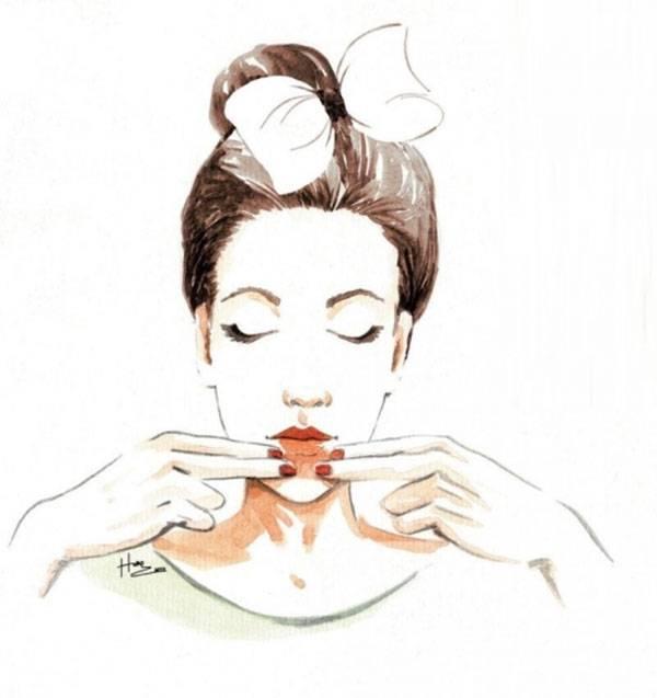 Massage mặt có tác dụng gì? Massage khóe miệng giúp cơ quanh miệng săn chắc