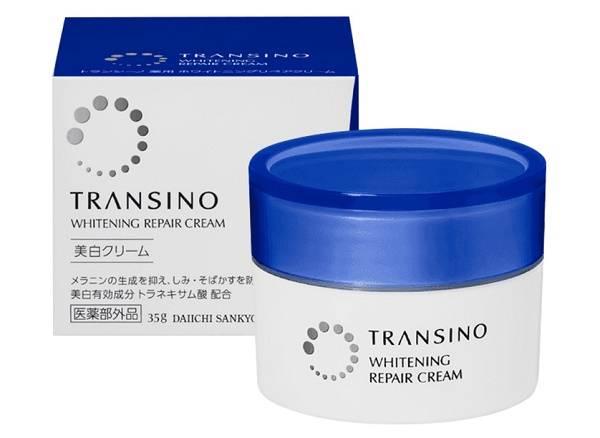 Kem trẻ hóa da Ransino Whitening Repair Cream