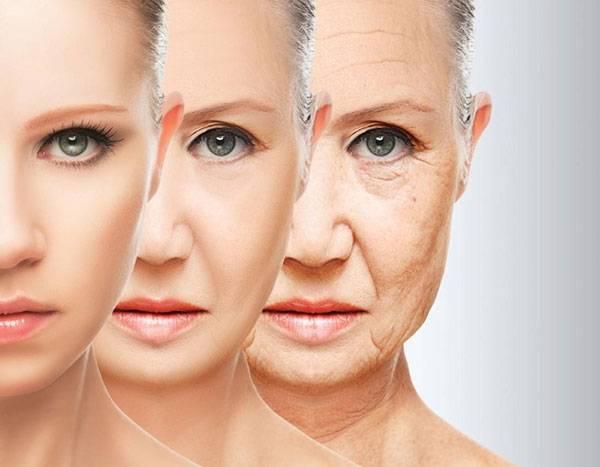 Làn da lão hóa theo quy luật thời gian và tuổi tác