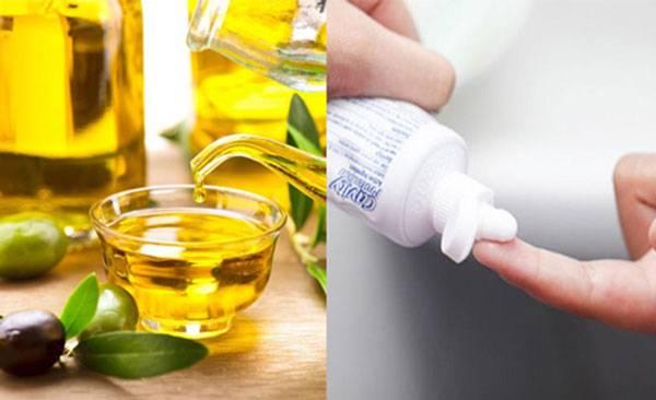 Trị mụn bằng kem đánh răng kết hợp với dầu oliu giảm sưng mụn rõ rệt