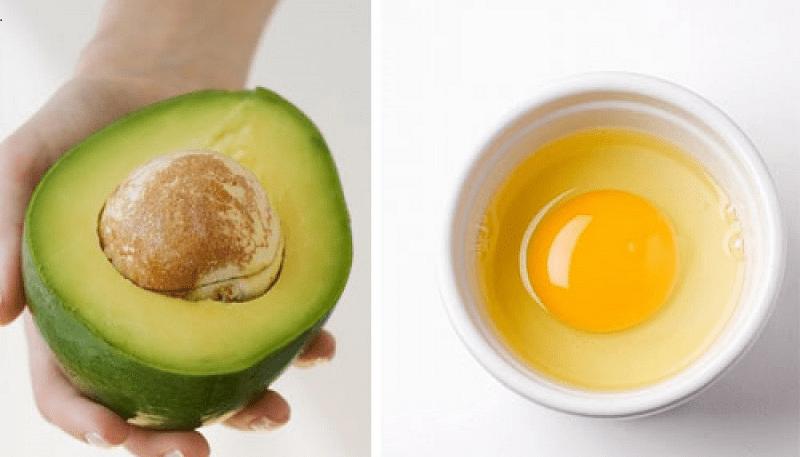 Kết hợp bơ và trứng gà là lựa chọn thích hợp cho những người giảm cân