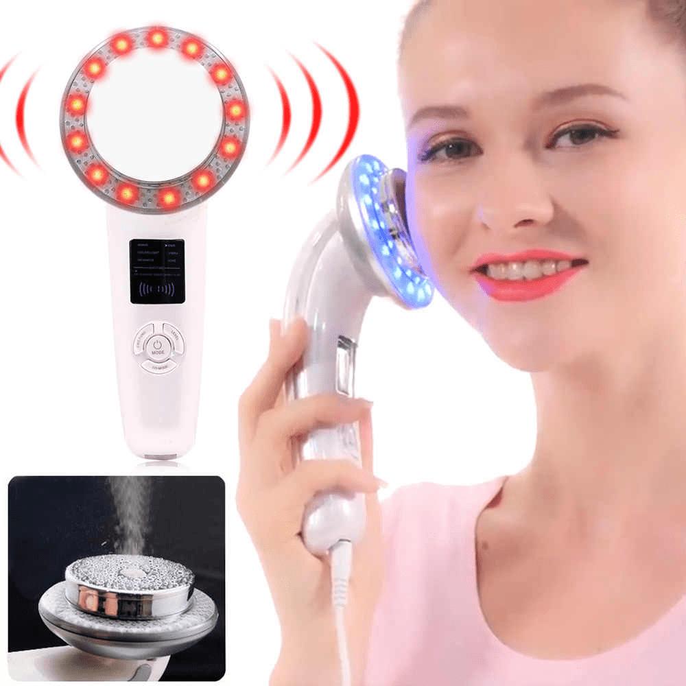 Sử dụng máy massage giảm béo mặt và cổ
