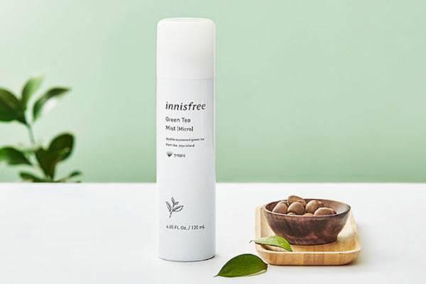 Xịt khoáng Innisfree Green Tea Mist Micro